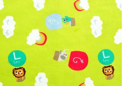 Zvířátka v balónu (dětská bavlna) metráž
