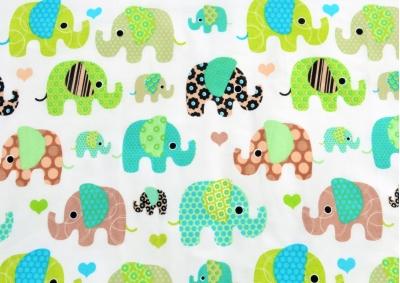 Slon barevný (dětská bavlna) metráž