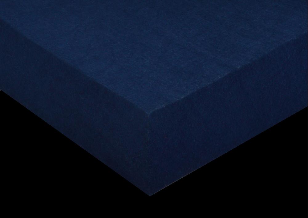 Froté prostěradlo Tmavě modré  100x200x10 - partie