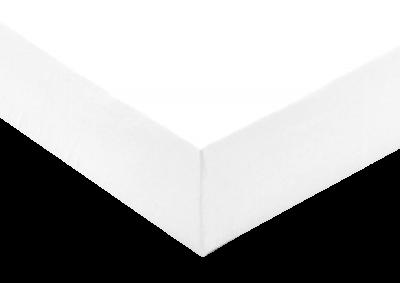 Jersey prostěradlo Bílé  - Partie