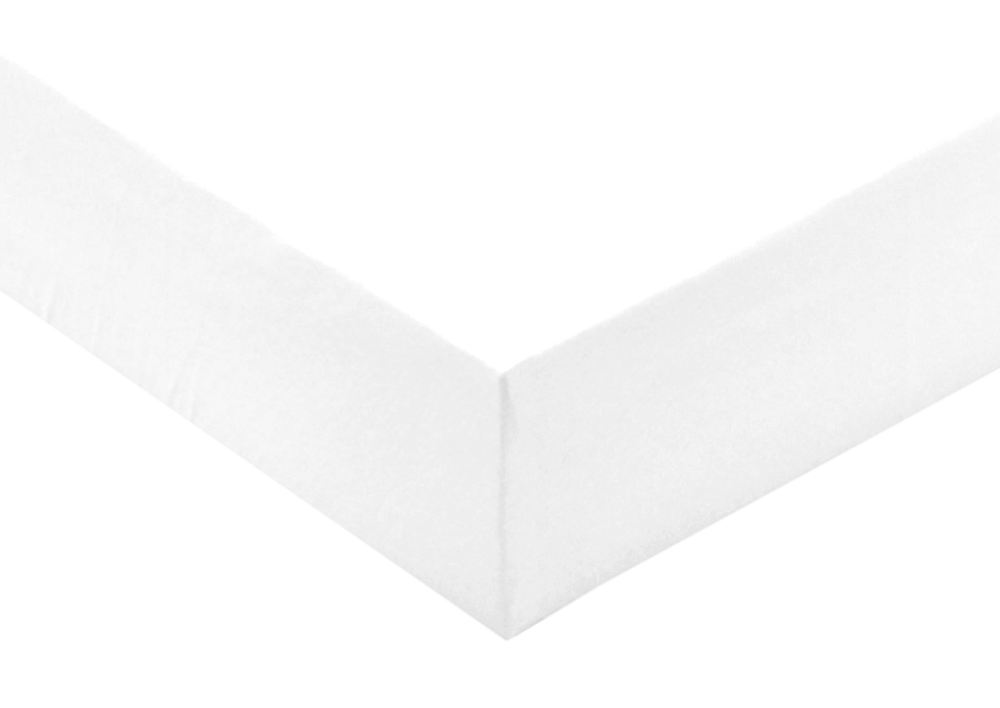 Jersey prostěradlo Bílá 200x200x10 - partie