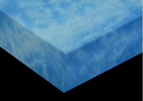 Froté prostěradla batika Královská modrá