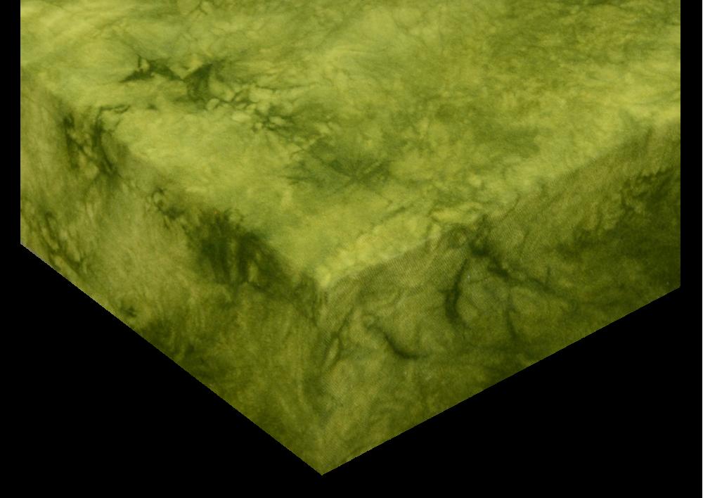 Froté prostěradla batika Zelená