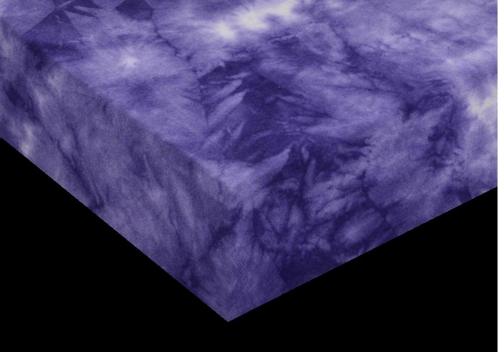 Froté prostěradla batika Violet