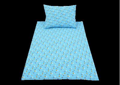 Modré lodičky (krep dětský)