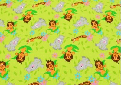 Zelená Zoo  (dětský krep)