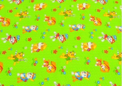 Zelený pejsek (dětský krep)