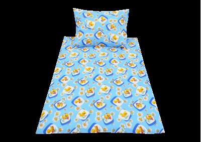 Modrá kuřátka (dětská bavlna)