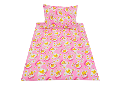 Růžová kuřátka (dětská bavlna)