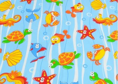 Podmořský svět (dětská bavlna)