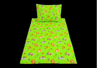 Zelený pejsek (dětská bavlna)