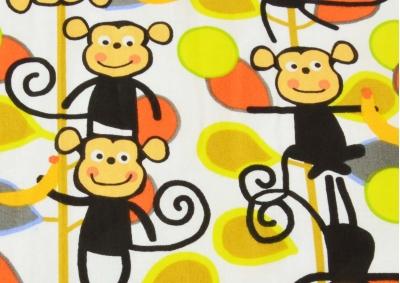 Opičky (dětská bavlna)