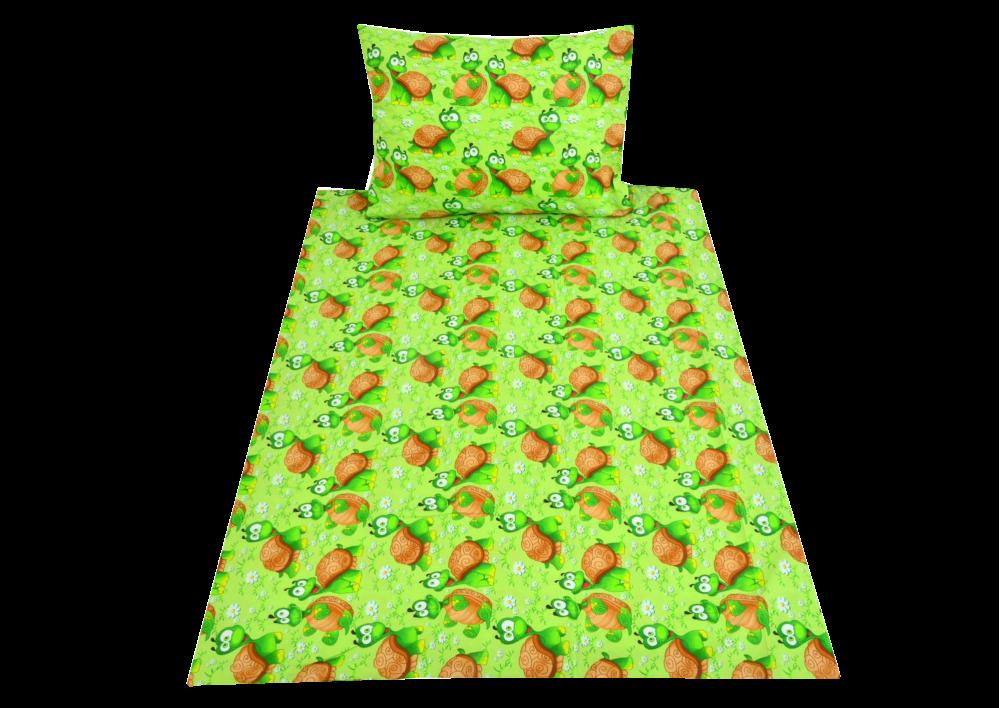 Želvička zelená  (dětská bavlna)