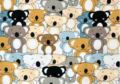 Medvídek koala (dětská bavlna)
