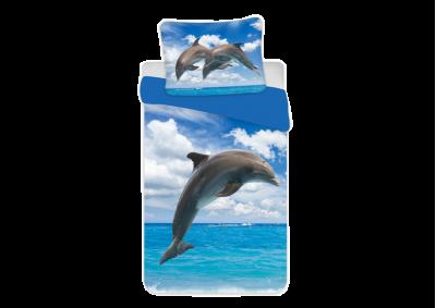Bavlněné povlečení Delfín 140x200