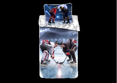 Bavlněné povlečení Lední hokej 140x200