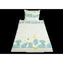 Slůňátka modrá (dětská bavlna)