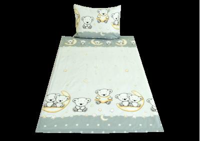 Šedivý medvídek (dětská bavlna)