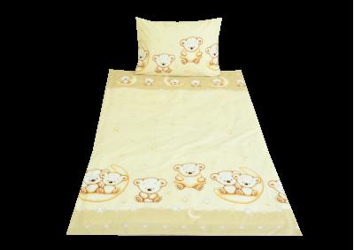 Hnědý medvídek (dětská bavlna)