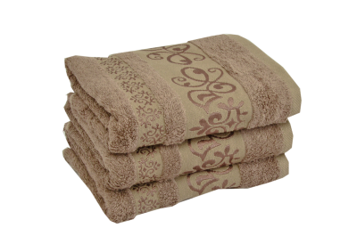 Bambusový ručník CATANIA Světle hnědý