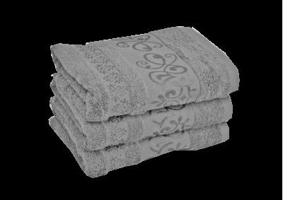 Bambusový ručník CATANIA Světle šedý