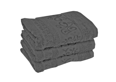 Bambusový ručník CATANIA Tmavě šedý