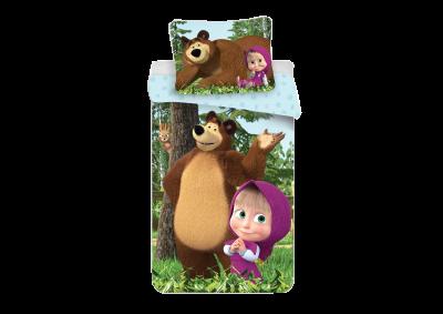 Bavlněné povlečení Máša a medvěd (Forest)