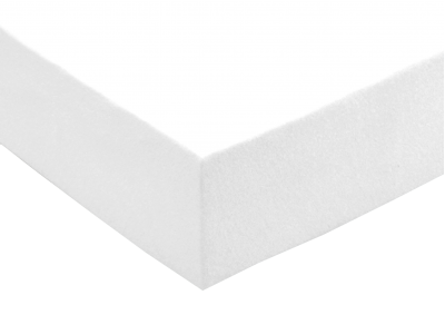 Froté prostěradlo Bílé 90x200 - partie