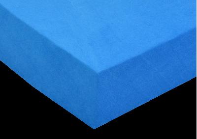 Froté prostěradlo Královská modrá 180x200 - partie
