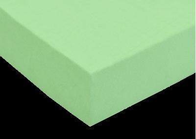 Froté prostěradlo Světle zelené 90x200 - II. jakost