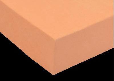 Froté prostěradlo Lososové 160x200 - II. jakost