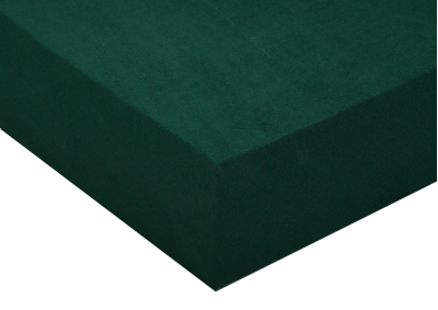 Froté prostěradlo Tmavě zelené 160x200 - II. jakost