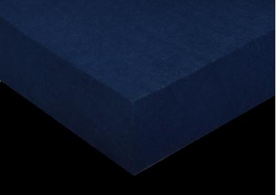 Froté prostěradlo Tmavě modré 90x200 - partie