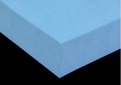 Froté prostěradlo Světle modré 90x200 - partie