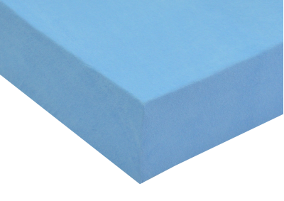 Froté prostěradlo Světle modré 160x200 - partie