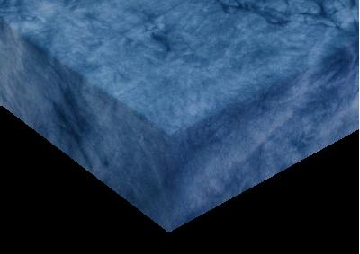 Luxusní froté prostěradlo batika Námořnická modrá 160x200...