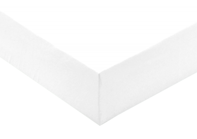 Jersey prostěradlo Bílé 90x200- II. Jakost
