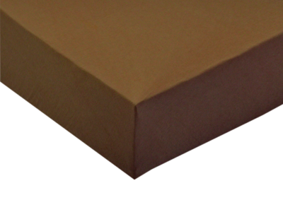 Jersey prostěradlo Čokoládové 80x200 - II. Jakost