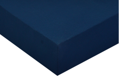 Jersey prostěradlo Tmavě modré 140x200 - partie