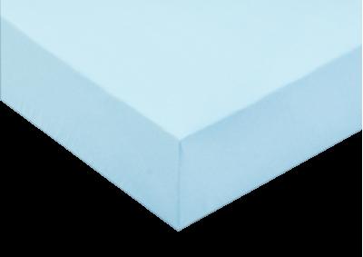 Froté prostěradlo Světle modré 180x200 - II. jakost