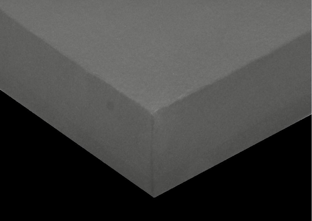 Jersey prostěradlo Tmavě šedá 200x200 - partie