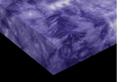 Froté prostěradlo batika Violet 90x200 - partie