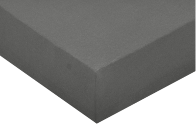 Jersey prostěradlo Tmavě šedivé 140x200 - partie