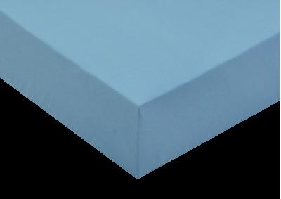 Jersey prostěradlo Světle modré 140x200 - partie