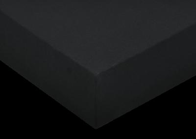 Jersey prostěradlo Černé 90x200 - II. Jakost