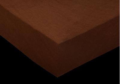 Froté prostěradlo Čokoládové 180x200 - II. jakost