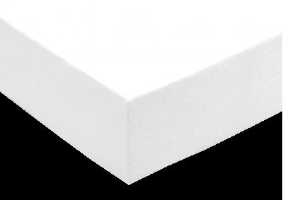 Froté prostěradlo Bílé 90x200x40