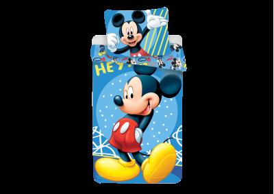 Bavlněné povlečení Mickey Hey