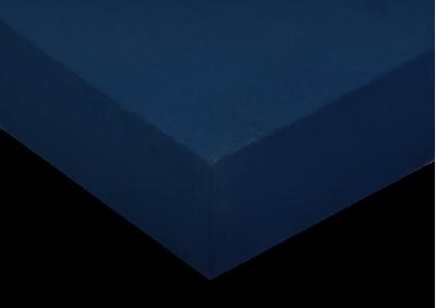 Jersey prostěradlo Tmavě modrá 160x200 - Partie