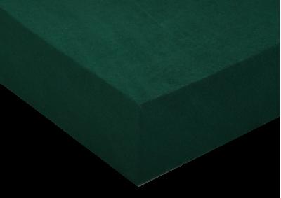 Froté prostěradlo Tmavě zelené 200x220 - partie
